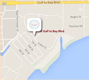Clearwater Florida Map.Luxury Apartments In Clearwater Fl Solaris Key